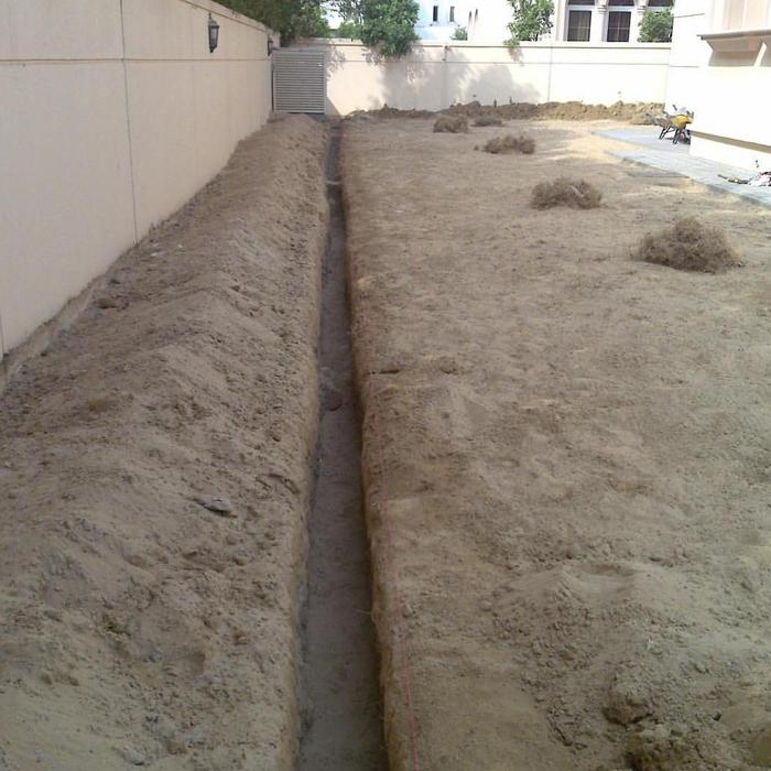 Installation Of Irrigation System-5