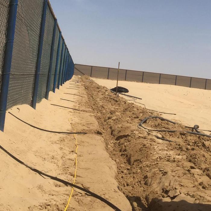Installation Of Irrigation System-6