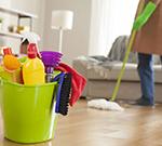 تنظيف المساكن والمكاتب